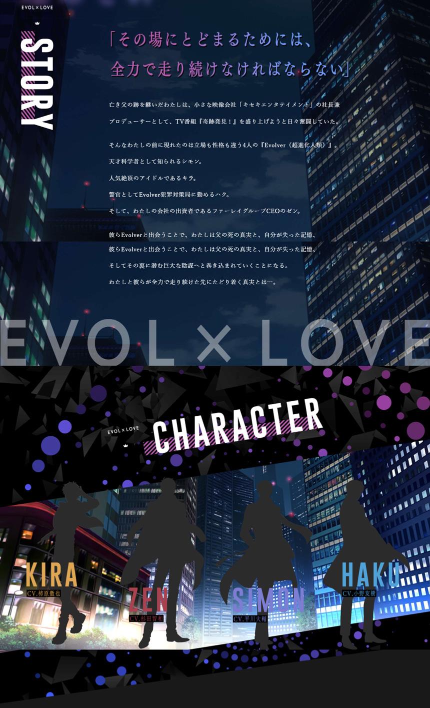 恋とプロデューサー~EVOL×LOVE~ 公式サイト